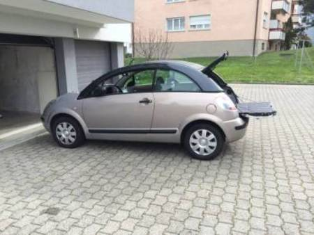 citroen c3 pluriel citro n c3 pluriel 2005 75 39 000 km 3. Black Bedroom Furniture Sets. Home Design Ideas
