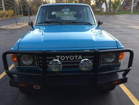 Fj60 For Sale >> Toyota Serie 60 1984 Toyota Fj60 For Sale Used The Parking