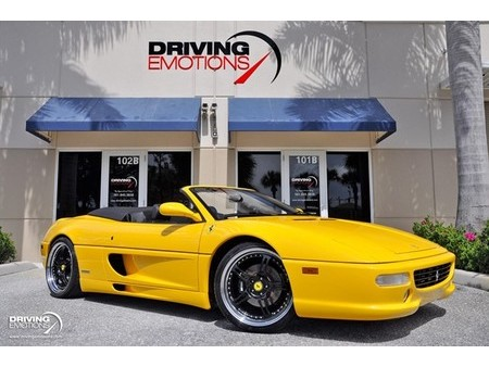 Ferrari F355 Spider Yellow Used Search For Your Used Car On The Parking