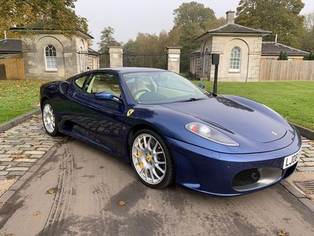 Ferrari F430 Gasoline Blue Used Search For Your Used Car On The Parking