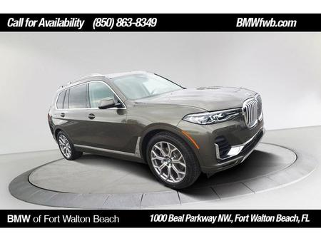 Bmw X7 Brand New Green Color 2020 Bmw X7 Xdrive40i For Sale In Fort Walton Beach Fl 32547 Vin I Used The Parking