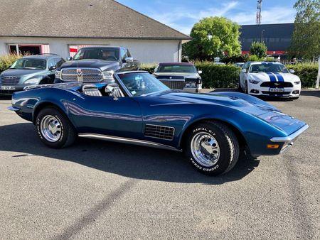 chevrolet corvette c3 stingray cabriolet v8 5.7l 1971