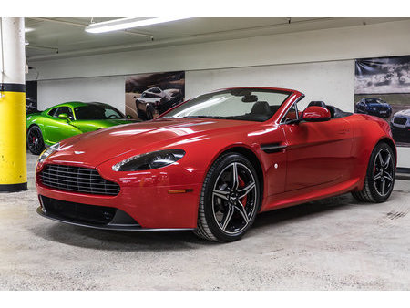 Aston Martin Vantage Roadster Red Used Search For Your Used Car On The Parking