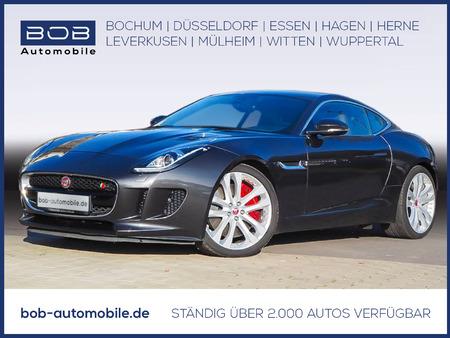 8,6 l/100km (komb.),211 g co2/km (komb.) https://cloud.leparking.fr/2020/12/12/08/20/jaguar-f-type-f-type-s-awd-coupe-xenon-navi-shz-pdc-klima-bt-grau_7895896953.jpg