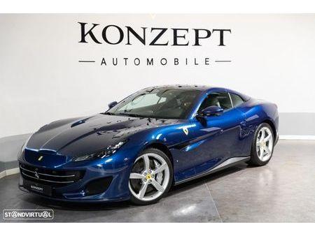 Ferrari Portofino Blau Gebrauchtwagen Gebrauchtwagen Suchen Das Parking