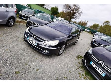 peugeot 607 black used search for